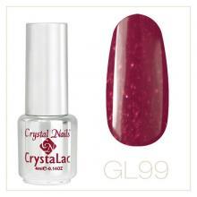 Barva gel lak GL99 Crystal